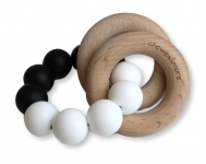 Chewies & More Basic Rattle Zwart/Wit
