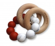 Chewies & More Basic Rattle Rusty Cinnemon/Marble