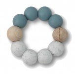 Chewies & More Basic Chewie Dusty Blue/Wit Gritt