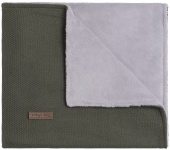 Baby's Only Wiegdeken Teddy Classic Khaki  70 x 95 cm