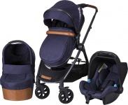 X-Adventure X-Line S Royal Blue Incl. Bijpassende Autostoel