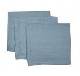 Briljant Hydrofiele Monddoekjes Dusty Blue (3 stuks)
