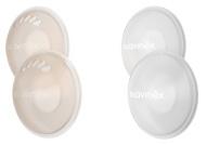 Suavinex Zero Borstschild + Siliconen Pads (2x2Stuks)