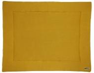 Meyco Boxkleed Knit Basic Okergeel 77 x 97 cm