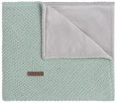 Baby's Only Wiegdeken Soft Flavor Sparkle Goud-Mint Mêlee 70 x 95 cm