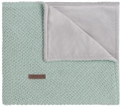 Baby's Only Ledikantdeken Soft Flavor Sparkle Goud-Mint Mêlee 100 x 135 cm