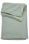Meyco Deken Knit Basic Winter Stone Green 75 x 100 cm