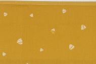 Meyco Laken Sweet Triangle Okergeel 100 x 150 cm