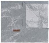 Baby's Only Wiegdeken Marble Grijs/Zilvergrijs 70x95 cm