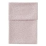 Cottonbaby Ledikantlaken Hagel roze 120 x 150 cm