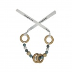Chewies & More Maxicosi Spanner Dusty Bleu/Wit Gritt/Donker