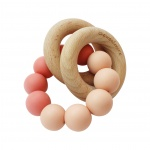 Chewies & More Basic Rattle Coral/Peach
