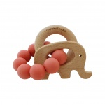 Chewies & More Play Rattle Coral
