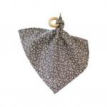 Chewies & More Knuffeldoekje Leopard Grijs