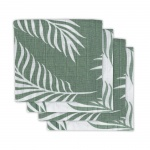 Hydrofiele Multidoek Small 70x70 Nature Ash Green 4pck