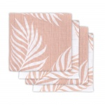 Hydrofiele Multidoek Small 70x70 Nature Pale Pink 4pck