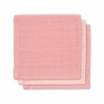 Jollein Bamboe Monddoekjes Pale Pink 3pck