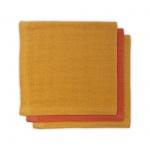 Jollein Bamboe Monddoekjes Mustard Rust 3pck