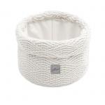 Jollein Verzorgingsmandje River Knit Cream White