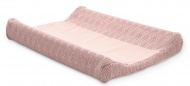 Jollein Waskussenhoes River Knit Pale Pink