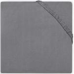 Jollein Hoeslaken Boxmatras Jersey Dark Grey 75 x 95 cm
