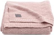 Jollein Deken River Knit Pale Pink   75 x 100 cm