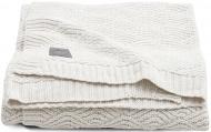 Jollein Deken River Knit Cream White    100 x 150 cm
