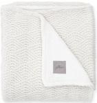 Jollein Deken River Knit Cream White/Coral Fleece   75 x 100 cm