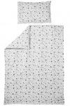 Meyco Overtrek Dots Grijs  100 x 135 cm