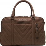 Little Company Diaperbag Amsterdam Quilted Cognac
