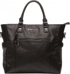 Little Company Diaperbag Oslo Snake Black