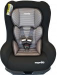 Nania Eco Maxim SP Shadow Black Inclusief Custo Insert Tech Grey