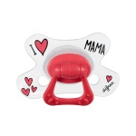 Difrax Fopspeen I Love Mama Natural 12 mnd+