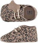 XQ Little Shoes Schoen Leather Animal Panther