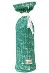 Meyco Kruikenzak Fine Lines Emerald Green