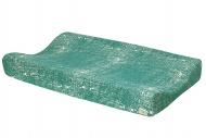 Meyco Waskussenhoes Fine Lines Emerald Green