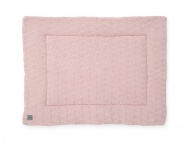 Jollein Boxkleed River Knit Pale Pink 80 x 100 cm