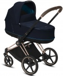 Cybex E-Priam Combi Rosegold/Rosegold Nautical Blue/Navy Blue