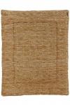 Meyco Boxkleed Block Mixed Oker/Camel  77 x 97 cm