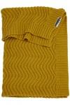 Meyco Deken Waves Okergeel  100 x 150 cm