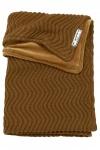 Meyco Deken Waves Velvet Camel  75 x 100 cm