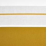 Meyco Laken Bies Velvet Okergeel  75 x 100 cm