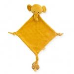 Jollein Knuffeldoekje Elephant Mustard