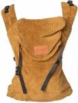 ByKay Click Carrier Classic Ribbed Velvet Mustard Brown