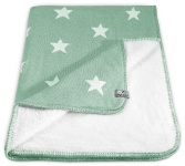 Baby's Only Ledikantdeken Teddy Star Mint