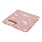 Little Dutch Swaddle Ocean Pink  120 x 120