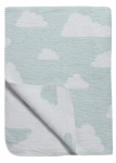 Meyco Deken Little Clouds Lichtblauw 75 x 100 cm