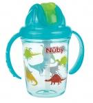 Nuby Tritan Flip-It Antilek Beker Aqua 240ml 12mnd+