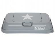 Funkybox To Go Grijs Met Zilveren Ster