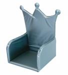 Stoelverkleiner Kroon Zilver (plastic)